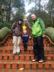 Steps to Wat Suthep