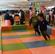 Playing at New Chitose