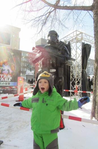 Will and the Jedi at Odori