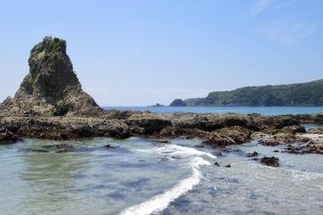 Kisami Ohama Beach in Shimoda