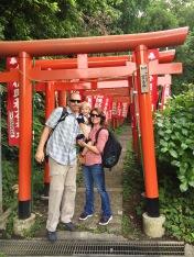 Saseke Inari Shrine in Kamakura