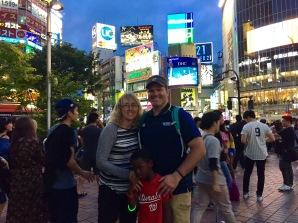 Shibuya in Tokyo