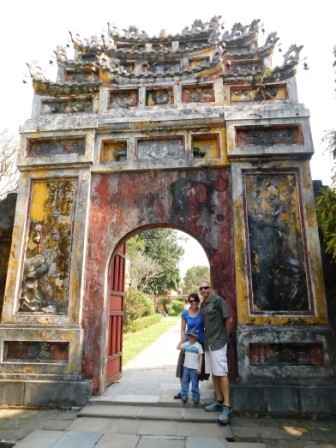 In Hue's Imperial Citadel
