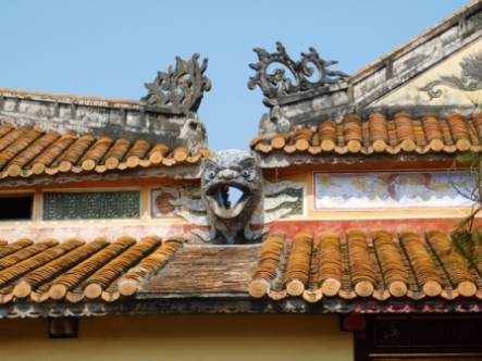 Drainage System in Imperial Citadel In Hue