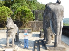 Emperor Khai Dinh's Tomb